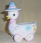 Duckling on Wheels Baby Planter