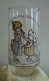 Hollie Hobbie Coca Cola Glass