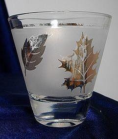 Libbey Gold Leaf Pattern Glassware