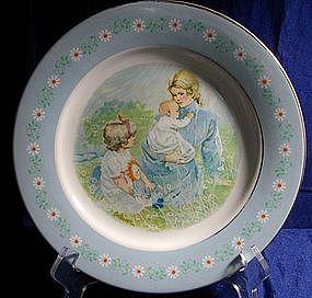 Avon Tenderness Commemorative Plate 1974