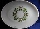Anchor Hocking Meadow Green Serving Platter