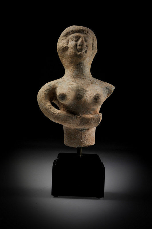 Rare- Biblical Iron Age Figure Of An Astarte, 800 BC