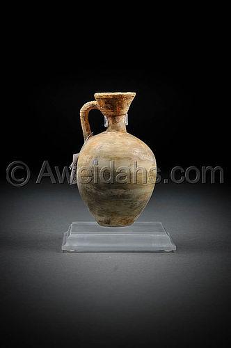 "Canaanite Late Bronze Age ""Cypriot"" alabaster BilBil"