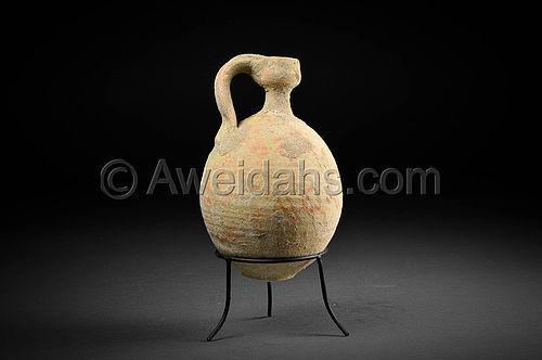 Biblical Roman Herodian perfume pottery jar, 37 BC - 70 AD