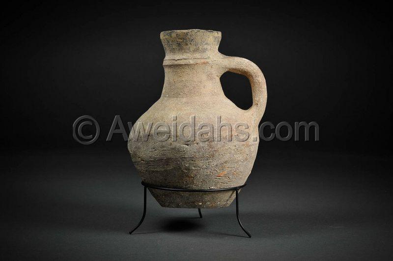 Byzantine pottery wine pitcher, 4th – 5th Cent. AD