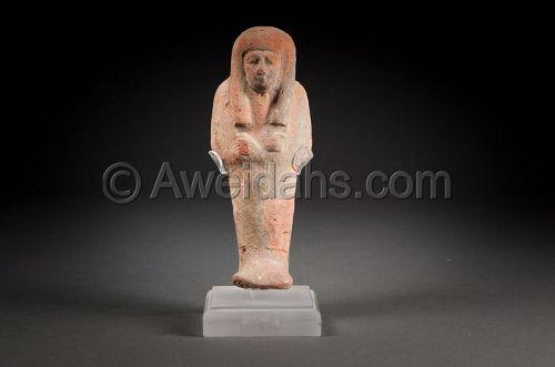 Ancient Egyptian terracotta Ushabti, 800 BC
