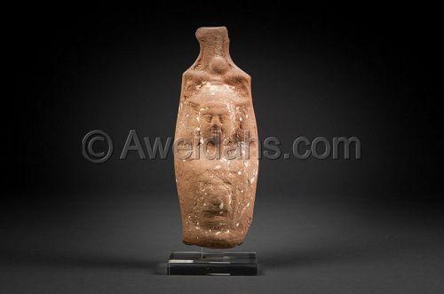 EGYPT, GRECO- ROMAN POTTERY FIGURE, 100 BC/AD