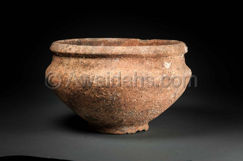 ANCIENT BIBLICAL IRON AGE WINE KRATER, 1000 BC