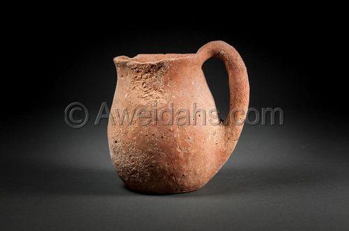 Ancient Chalcholithic Age pottery vessel, 4000 - 3100 BC