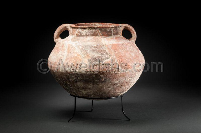 ANCIENT ROMAN HERODIAN POTTERY VESSEL, 37 BC-70 AD