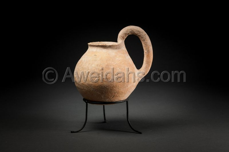 ANCIENT CHALCHOLITHIC AGE POTTERY VESSEL, 4000 BC