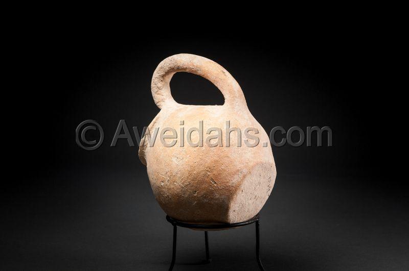 ANCIENT CHALCHOLITHIC AGE POTTERY VESSEL, 4000 BC