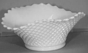 Westmoreland English Hobnail Milkglass Bowl