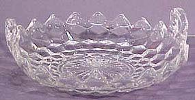 "Fostoria American 9"" Handled Bowl"