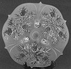 Fenton Pineapple Cake Platter, 3-footed