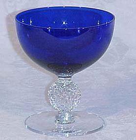 Morgantown Ritz Blue Golfball Sherbet
