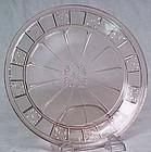 """Jeannette Doric Pink 9"""" Dinner Plate"""