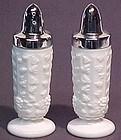 Westmoreland Paneled Grape Milkglass Shakers
