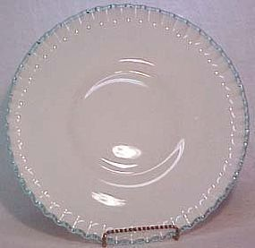 "Fenton Aquacrest 11.5"" Dinner Plate"