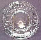 "Fenton Plymouth (crystal) 8"" Plates"