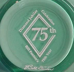 Bill Fenton's 75th Birthday Pitcher
