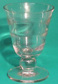 "Tiffin Crystal 7"" Vase"