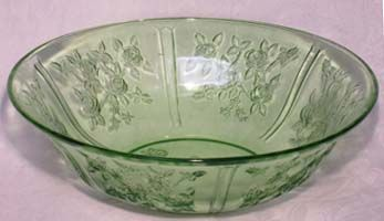 Federal Sharon Green Fruit Bowl, 10""