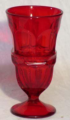 Fostoria Argus Red Ice Tea
