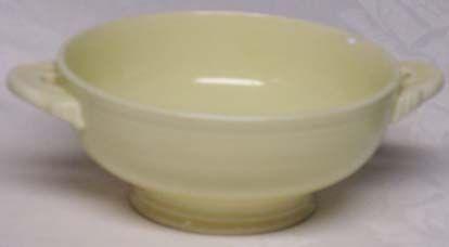 Fiesta ware Vintage Ivory Cream Soup