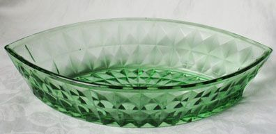 Jeannette Green Windsor Diamond Vegetable Bowl