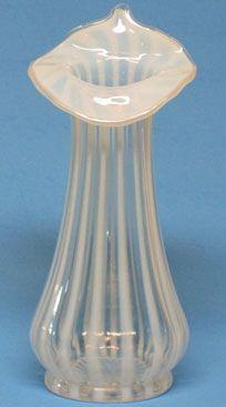 "Fenton French Opalescent 8"" Vase"