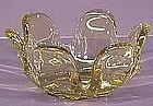 """Duncan & Miller Chartreuse 8"""" Bowl"""