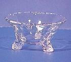 Heisey Empress Crystal Nut Bowls
