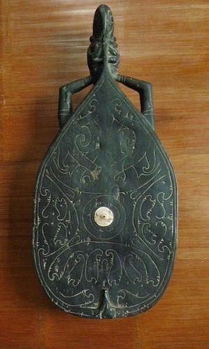 Dayak Carved Wooden Stool