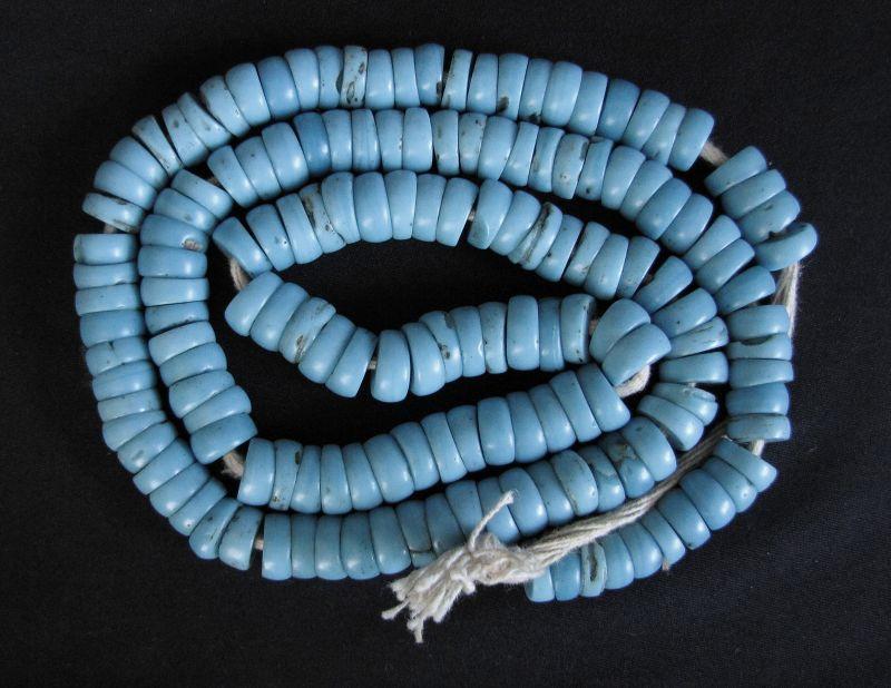 Nyishi Turquoise Glass Beads