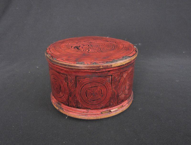 Antique Shan Lacquer Box