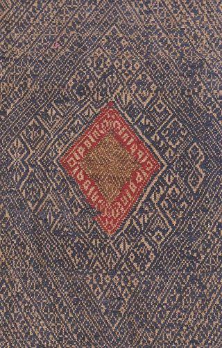 Old Lao Silk Scarf- Lao Pha Chet
