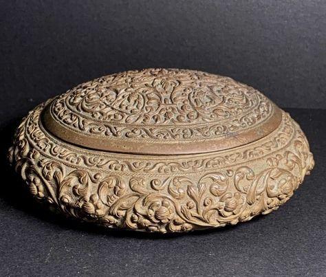 Sri Lanka Copper Trinket Box