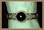 Vintage Victorian Revival Clamp Bangle Bracelet Bates