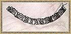 Vintage Cini Sterling Boston Bracelet Nouveau Motif