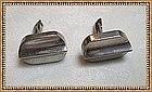 Vintage Sterling Silver 980 Margarita Taxco Cufflinks