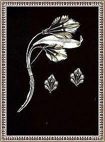 Vintage Rhodium on Sterling Bold Floral Pin Set