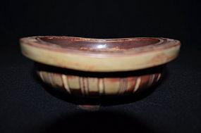 Ceramic bowl by Wilhelm KÃ¥ge Farsta Gustavsberg studio