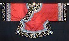 Antique Chinese embroidered silk robe, Excellent cond!