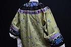 Antique Chinese embroidered silk robe -Manchu Changfu 2