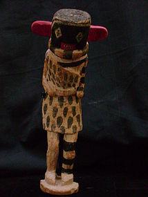 Hopi Polychrome Suy-ang-e-vif Left-handed Kachina