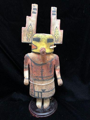 Hopi Polychrome Wood Katsina Doll by Wilson Tewaquaptewa