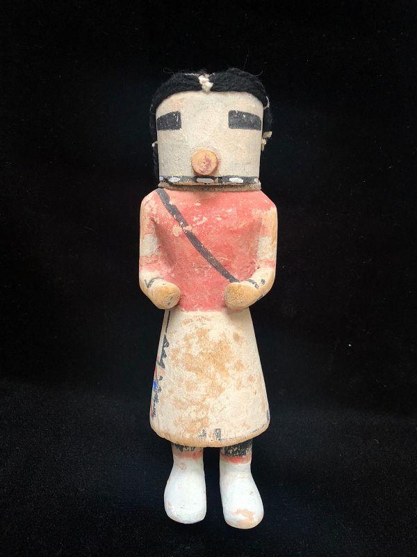Hopi Polychrome Wood Hunter Katsina