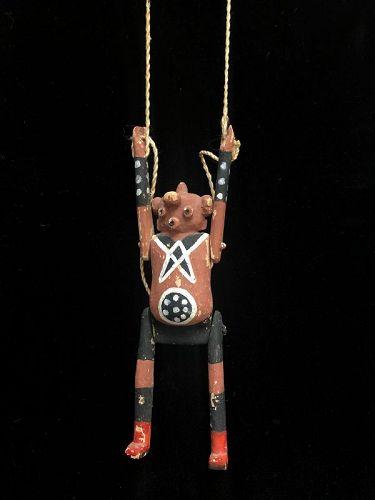 Hopi Koyemsi (The Mud head) Puppet