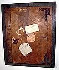 """Alan Kessler """"Letter to an Artist"""" Oil on Wood"""